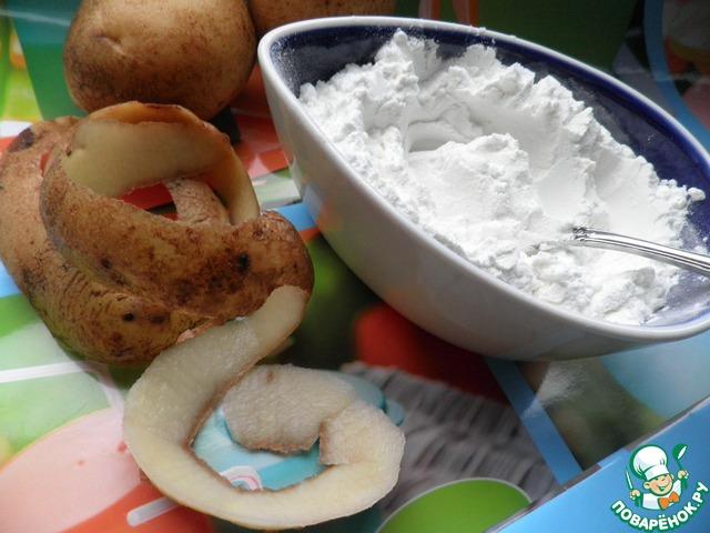 Как сделать крахмал из картофеля в домашних условиях пошагово фото