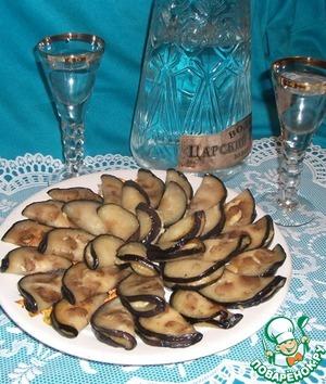 """Рецепт Баклажаны с сыром """"Отличная закуска"""""""