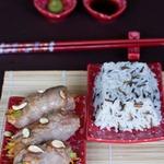 Свиные рулетики в японском стиле