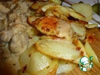 Свинина с грибами в сметанном соусе ингредиенты