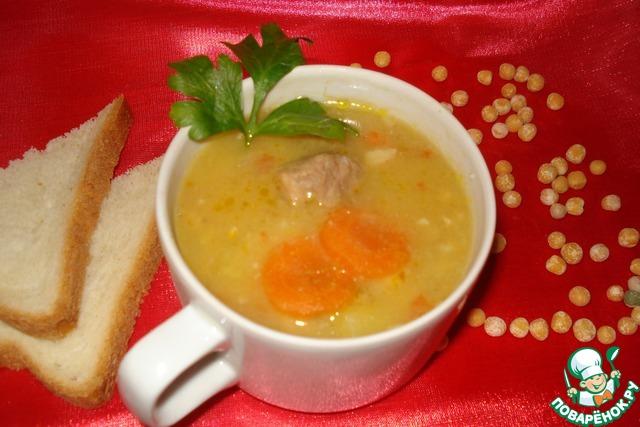 Суп гороховый с говядиной в мультиварке рецепты с фото