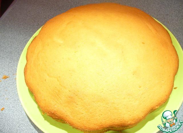 Бисквит с маслом рецепт пошагово