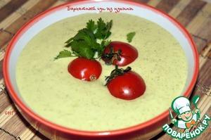 Рецепт Бархатный суп из цуккини