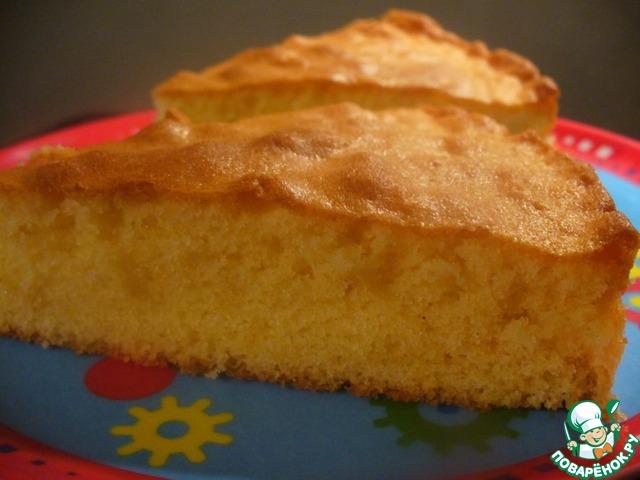 рецептура на воздушный масляный бисквит