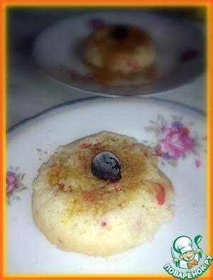 Рецепт Яблочные пирожные в микроволновке