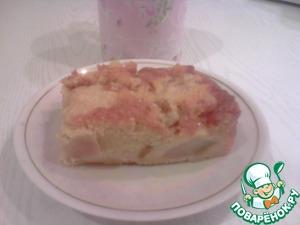 Рецепт Грушевый медово-лимонный пирог