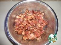 Свинина с грибами, перцем и соевым соусом ингредиенты