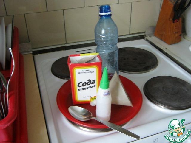 Как отмыть газовую плиту в домашних условиях
