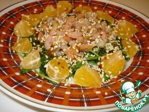 Рецепт Салат «Рукколино»