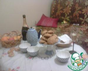 Рецепт Мягкое медово-овсяное печенье