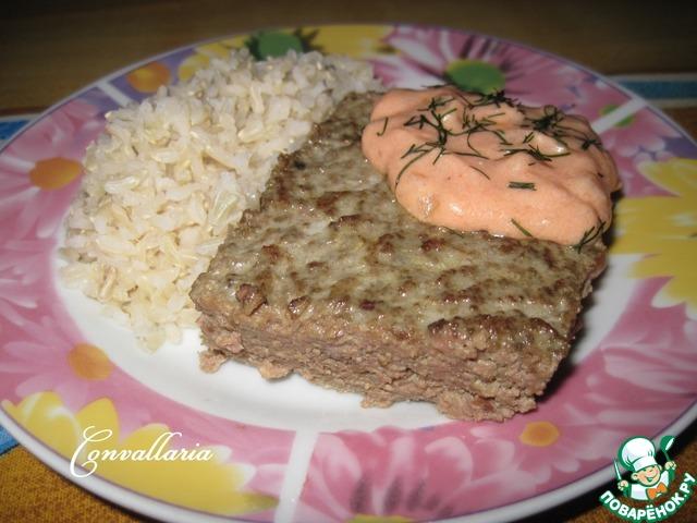 Рецепт мясного суфле как в детском саду