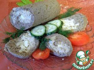 Рецепт Паштетная печеночно-куриная колбаса