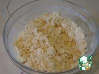 Кулебяка с капустой, беконом и яйцами ингредиенты