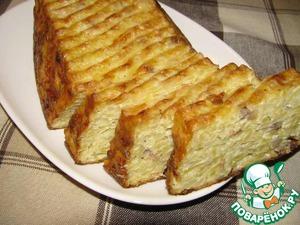 Рецепт Картофельный хлебец с салом