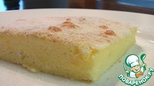 Рецепт Воздушный пирог с ванилью