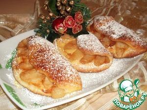 Рецепт Грушeво-творожные кармашки