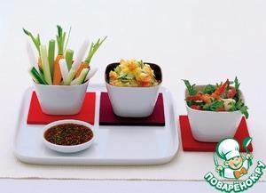 Рецепт Картофельный салат Sukiyaki