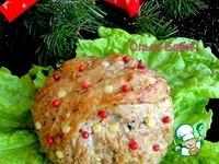 Новогодний мясной шар ингредиенты