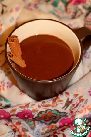 Рецепт Мексиканский горячий шоколад