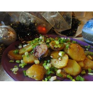 """Картошка с соевым соусом """"Раз и готово"""""""