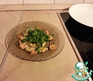 Рецепт Изысканный испанский салат