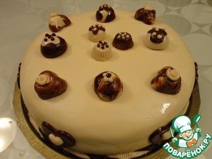 Рецепт Торт с муссом из белого шоколада