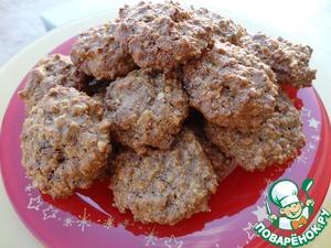 Рецепт Великолепное ореховое печенье без муки