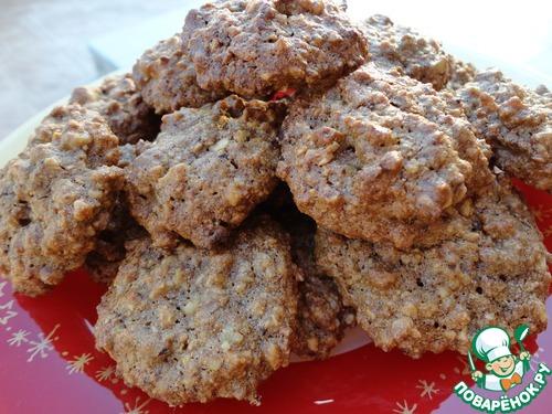 Великолепное ореховое печенье без муки