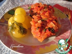 Рецепт Гречаники с овощным соусом