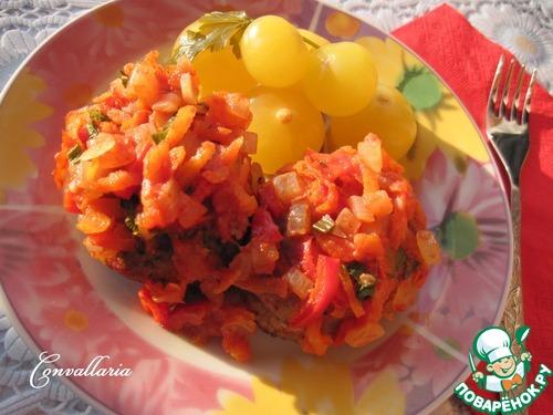 Овощная подлива рецепт пошагово