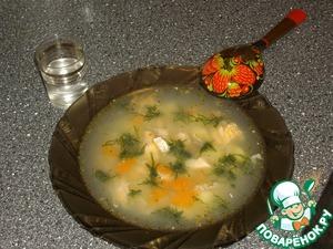 Рецепт Уха из семги