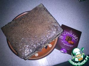 """Рецепт Шоколадный торт на кефире """"Ноченька"""""""