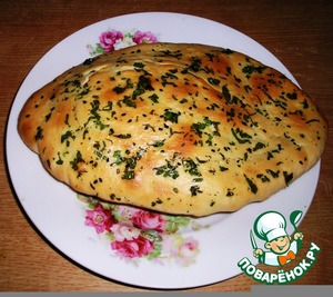 """Рецепт Индийские лепeшки """"Наан"""" - лучший хлеб во вселенной"""