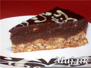 """Рецепт Торт """"Шоколадный крем на ореховой основе"""" (без муки)"""