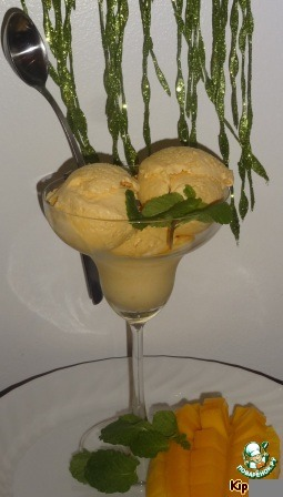 Рецепт Мороженое из манго