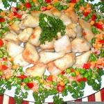 Свиной карбонад из куриного филе