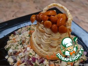 """Рецепт Салат """"Полезная вещица"""""""