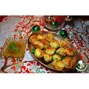 Картошечка хрустящая - прекрасный гарнир к любому новогоднему блюду