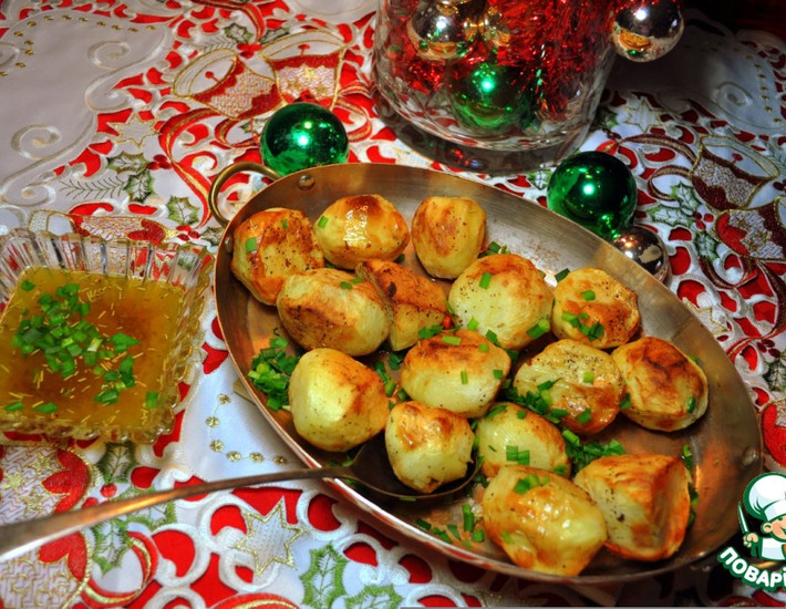Рецепт: Картофель хрустящий