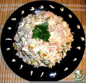 Рецепт: Салат с куриной грудкой