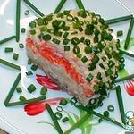 "Классический салат ""Мимоза"""