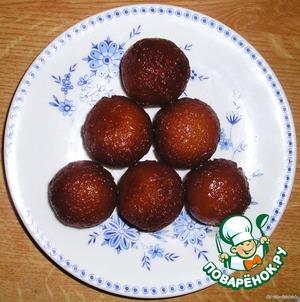 Рецепт Gulab Jamun (Гулабджамуны) - сладкое индийское лакомство