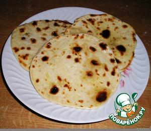 Рецепт Чапати - чудесные индийские лепeшки