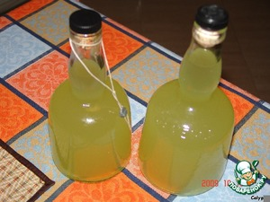 Рецепт Лимонный ликер - Limoncello