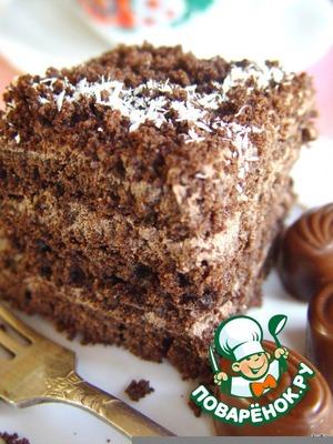 """Рецепт: Шоколадный торт """"Маркиз"""""""