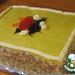 """Закусочный торт"""" Сырные страсти"""""""