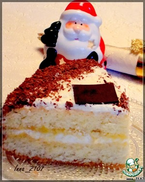 """Рецепт Бисквитный торт """"Нежный"""""""