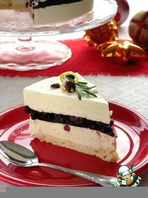 Рецепт Торт-суфле с белым шоколадом и красным вином