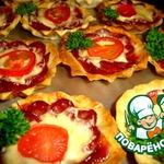 Тарталетки-пиццы