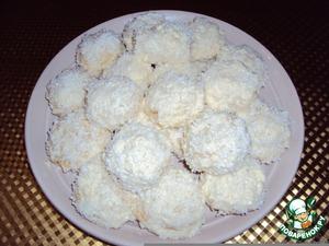 """Рецепт: Мини-пирожные """"Рафаэлло"""""""